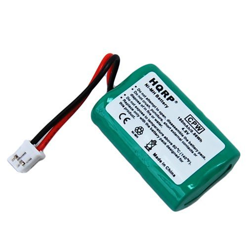 HQRP Battery compatible with SportDOG FieldTrainer 400S SD-400S SD400S Remote Dog Training Collar Receiver plus Coaster