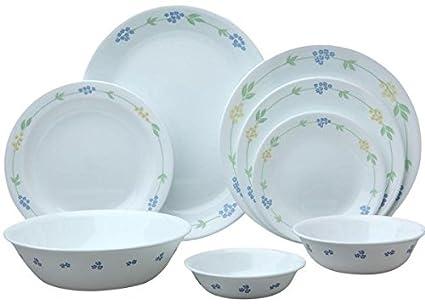 Amazon.com | Corelle Livingware Secret Garden 76-Pc Set: Luncheon ...