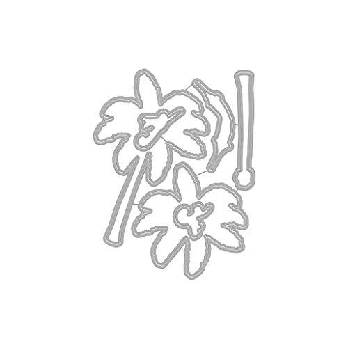 - Hero Arts DI653 Color Layering Palm Tree Frame Cuts Steel Die