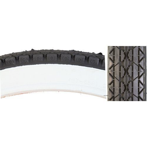 (Cheng Shin C241 Street Bicycle Tire (Wire Bead, 26 x 2.125, White Wall) )