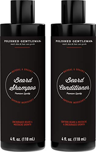 Beard Growth and Thickening Shampoo and Conditioner Set