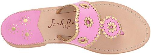 Hollis Sandalo Oro Lavpink Medio Jack Rogers Delle Piatto Donne qBvwBrI