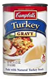 Campbell's, Turkey Gravy with Natural Turkey Stock, 10.5oz Can (Pack of 6)