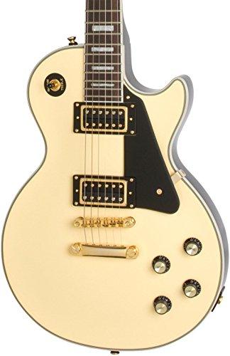 Epiphone Les Paul Custom Blackback PRO Electric Guitar Antique Ivory (Custom Electric Guitar Antique)