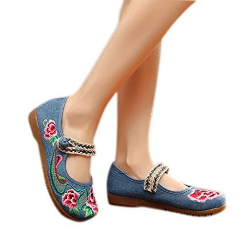 Pour Femmes Confortables Chaussures Aiweijia Soirée De Bleu Habillées wqHXpOa