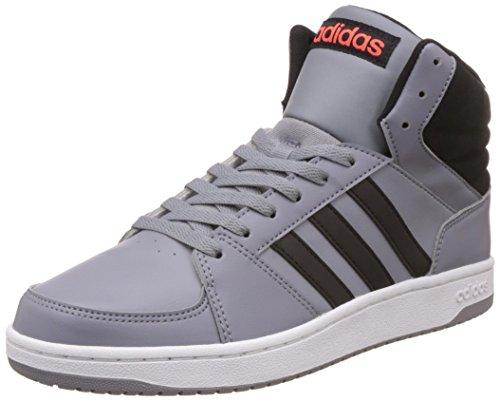 adidas - Zapatillas para hombre gris gris Grau-Orangefarbig-Schwarz