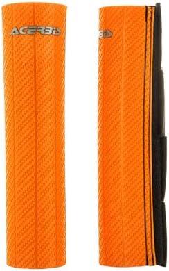 Acerbis Upper Fork Guards Orange for Husqvarna FE 501 2014-2018