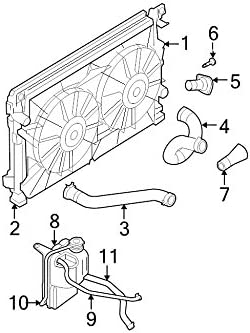 Amazon.com: Chrysler Oem Engine Coolant Recovery Tank 04880498Ac Image 8:  AutomotiveAmazon.com
