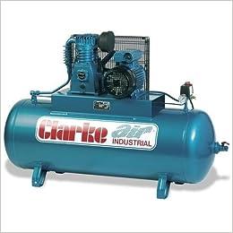 Clarke Compresor Aire Último Modelo 230V 4HP O / L 18CFM 200 Litros SE19C200: Amazon.es: Libros