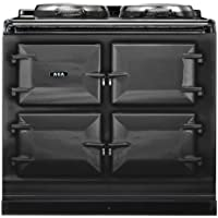 AGA ADC3G Dual Control 39 Inch Wide 4.26 Cu. Ft. Slide In Dual Fuel Range with S, Pewter