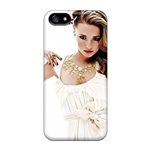 New Snap-on Saraumes Skin Case Cover Compatible With Iphone 5/5s- Hayden Panettiere 14