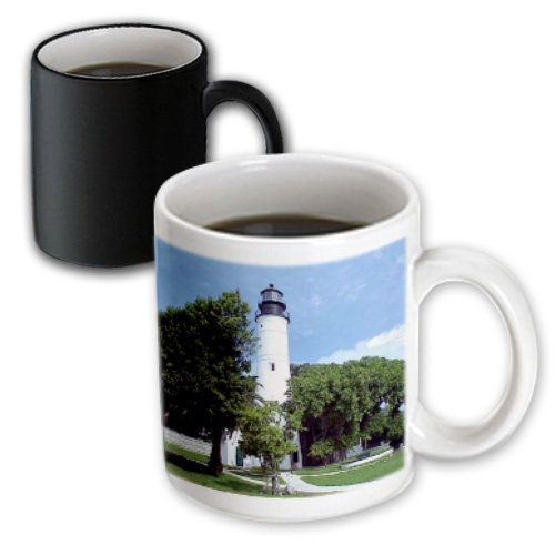 3dRose Key West Lighthouse - Magic Transforming Mug, 11oz. (mug_311_3) - Key West 3 Light