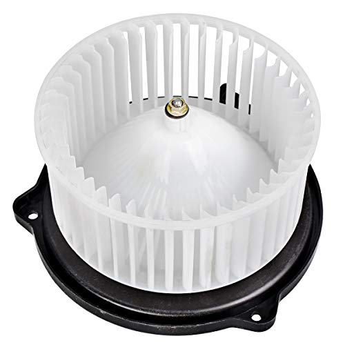 FAERSI HVAC Plastic Heater Blower Motor with Fan Cage Compatible with 1989-1995 Toyota Pickup/1996-2000 Toyota RAV4/1991-1995 Toyota MR2/1991-1999 Toyota Tercel/1990-2000 Mazda Miata &More ()