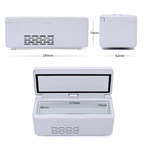 Tinsay Portable Insulin Refrigerator Insulin Cooler Box Mini Drug Constant Temperature Refrigerator Insulin Cold Box 2-8℃ by Tinsay