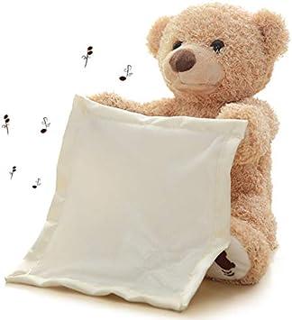 Peek A Boo Teddy Bear Toddler Kid Children Play Soft Toy Plush Blanket Kids Gift