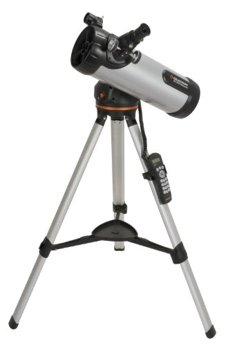Celestron 114LCM Computerized Telescope (Black) by Celestron