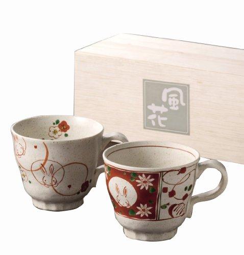 flower-bloom-red-glazing-rabbit-peamagu-15584-japan-import