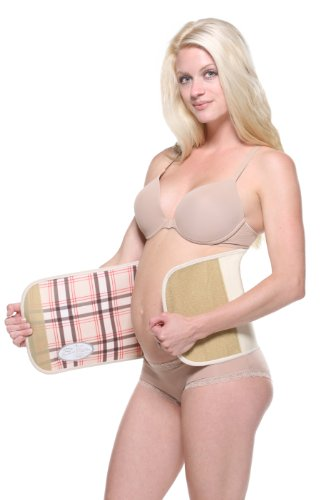 Belly Bandit Ceintures de Grossesse Nude Plaid L