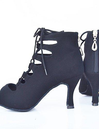 de Violet Talon Blue Latine Personnalisables ShangYi Chaussures Noir Bleu danse Moderne Rouge Aiguille Flocage 5XwBq8Zn