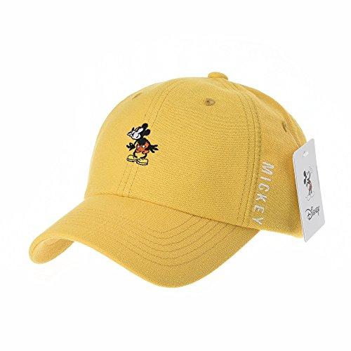 Amarillo Disney Neh Baseball de de CR1631 WITHMOONS béisbol de Mickey Gorra Trucker Sombrero Boo Mouse Hat Gorras Cap qUHpATwH8