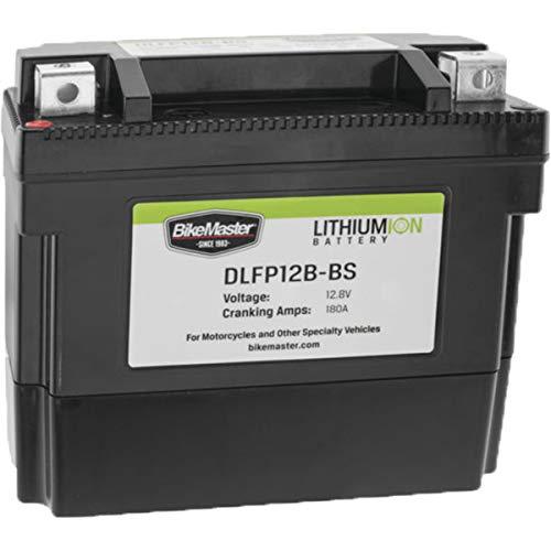 BikeMaster DLFP-12B-BS Lithium-Ion Battery - One Size ()