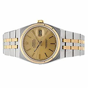 Rolex Oysterquartz quartz mens Watch 17013 (Certified Pre-owned)