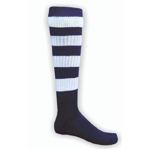 Red Lion Hoop Rugby Knee High Sock