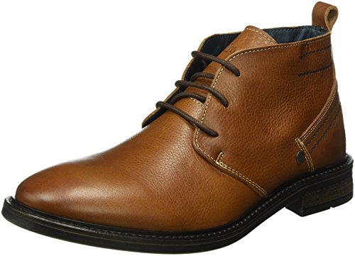 Wrangler Roll Desert Leather, Zapatillas de Estar por Casa para Hombre Marrón - Braun (66 Nut)
