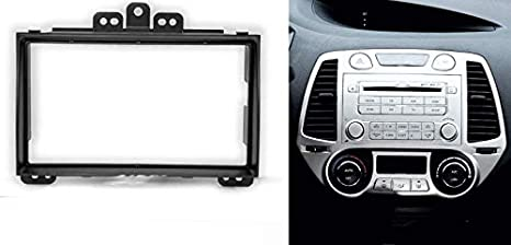 1 DIN Car stereo facia radio adapte for FORD FIESTA//FUSION 1 DIN avec vide poche