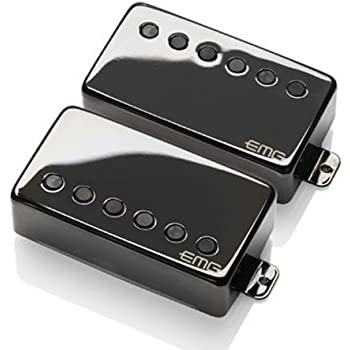 EMG JH Set James Hetfield Signature Pickup Set, Black Chrome