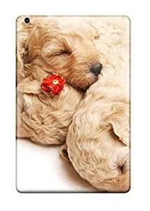3344615J89125488 Case For Ipad Mini 2 With Nice Cute Sleeping Puppies Appearance