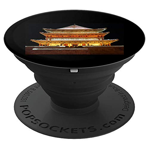 Ancient Bell Tower Xi'an China - PopSockets Grip and Stand for Phones and -