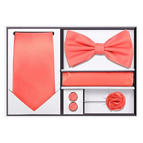 5pcs Tie set (Coral) ()