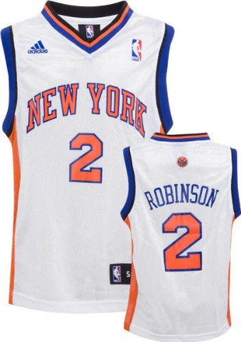 0c02feac ... Nate Robinson White adidas NBA 2 Replica New York Knicks Youth Jersey  ...