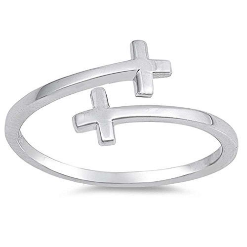 double cross ring - 1