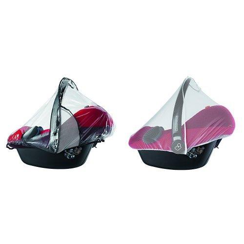 Maxi-Cosi Black ISOFIX Car Seat Base and Raincover Set