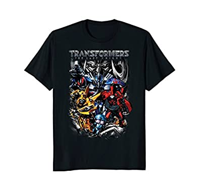Transformers Movie Robot Action Group T-Shirt