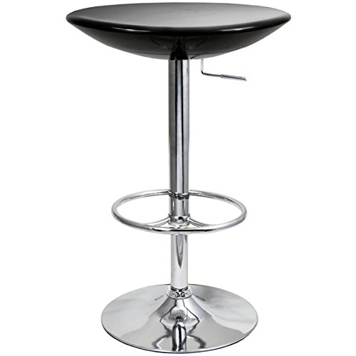 Podium Table - Black - Bar Table, Kitchen Table, Diner Table, Pedestal Table, Bistro Table drinkstuff