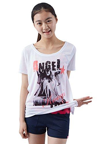 Koogi Girls' Swimwear 4Piece Set Upf 50+ 14-Large Pink by KOOGI