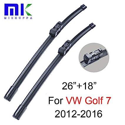 Amazon.com: Escobillas limpiaparabrisas para VW Golf 7 Fit ...