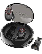 Auricolari Wireless Bluetooth Senza Fili, Vigorun Cuffie in Ear con Scatola Ricarica Portatile Auricolare Stereo Sport Palestra Cancellazione Rumore IPX5 per iPhone XS Max Samsung Huawei Sony iPad…