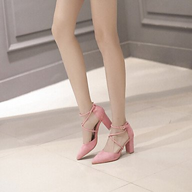 Ons Summer EU39 UK6 Women'sLoafers US8 CN39 Spring amp; Casual PU FYios Blushing Soles Pink Slip Light XtTCwXq
