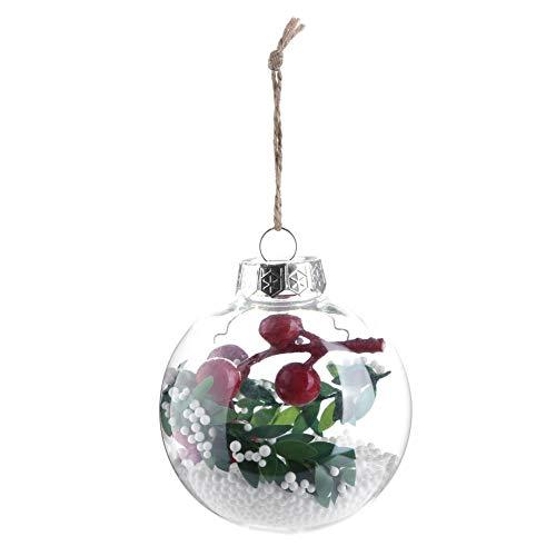 Domybest Bolas De Navidad Transparentes Arbol De Navidad Adorna - Bolas-de-navidad-transparentes