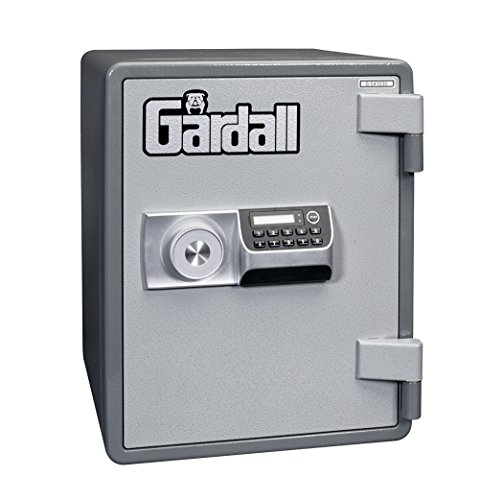 Gardall ES1612-G-E One Hour Vertical Microwave Style Fire Safe w/ Electronic Lock Grey by Gardall (Image #2)