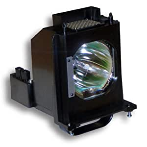 Replacement Lamp for Mitsubishi WD-65C8 (Original Philips / Osram Bulb Inside) with Housing by HMHLamps