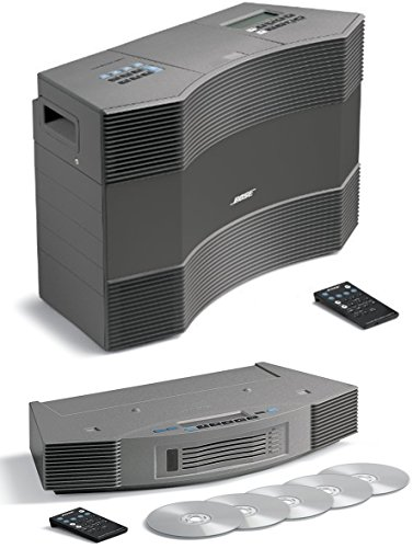 Bose Acoustic Wave Music System II and Wave Multi-Disc Changer II - Titanium Silver