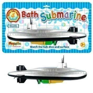 Childrens Bath Time Fun Scuba Wind Up Water Submarine Boat Toddler Toys   B00DDPEUI2