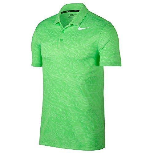 Nike Shirt Away (NIKE Dry Fit Breathe Jacquard Golf Polo 2017 Green Strike/White XX-Large)