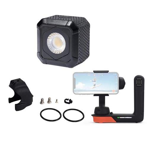 Lume Cube AIR, Bundle with Freefly Movi Stabilizer & Movi Hoodie, Microfiber Cloth ()