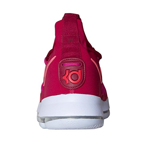 ... Nike Menns Zoom Kd 9 Basketball Sko Rød / Lilla ...